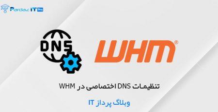 تنظیمات DNS اختصاصی در WHM