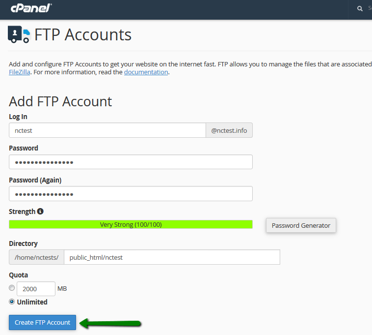 Image result for ftp account