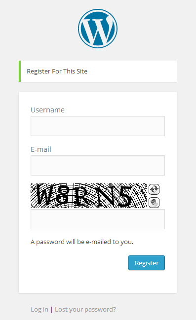 معرفی افزونه امنیتی CAPTCHA وردپرس