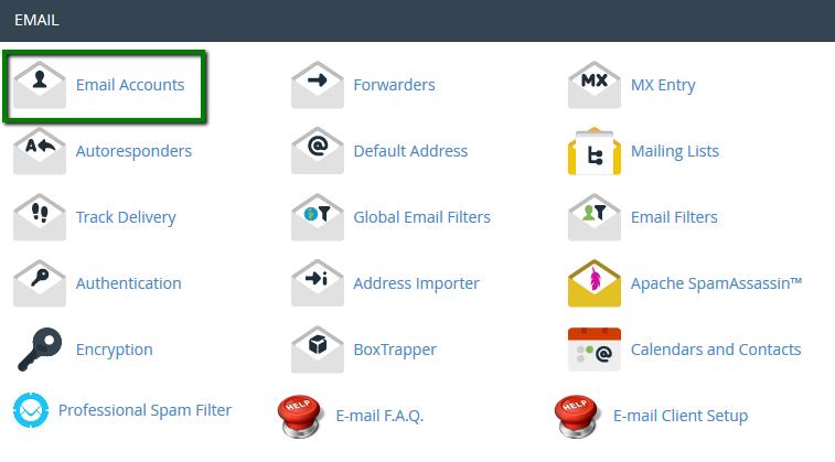 آموزش ساخت و مدیریت ایمیل در cPanel