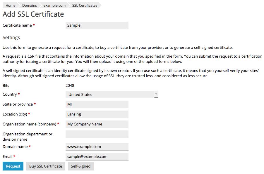 آموزش نصب گواهی SSL در پلسک