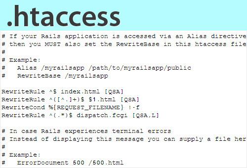 نحوه حذف پسوند های php و html با ویرایش htaccess