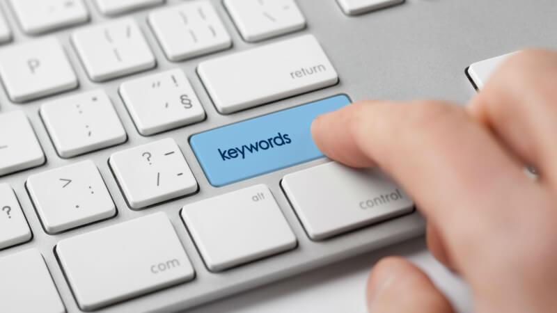 تاثیر کلمات کلیدی در سئو سایت