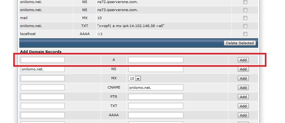 آموزش تنطیم IP ساب دامین در Directadmin