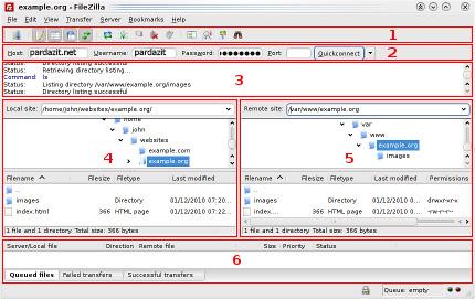 دانلود و آپلود فایل ها از طریق FTP