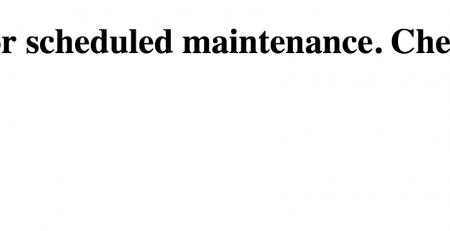 رفع خطای Maintenance