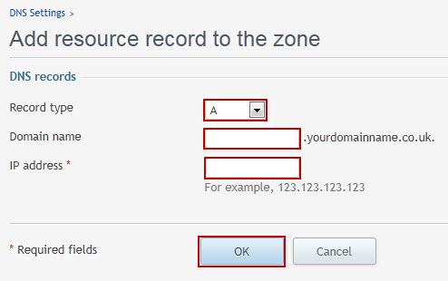 آموزش تنظیم IP روی subdomain در پلسک