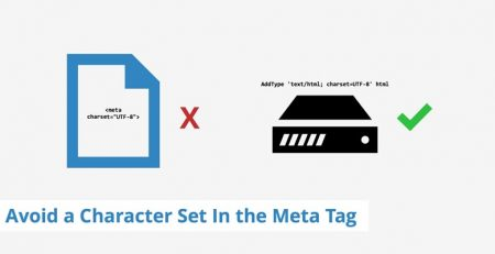 حل ارور Avoid a character set in the meta tag در GTmetrix
