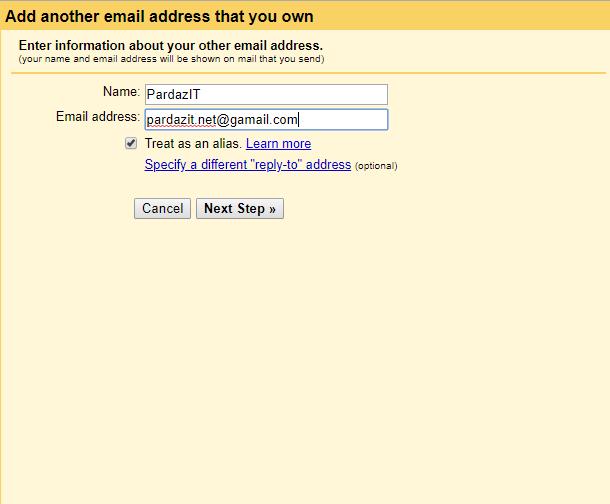 آموزش اضافه کردن ایمیل هاست به Gmail