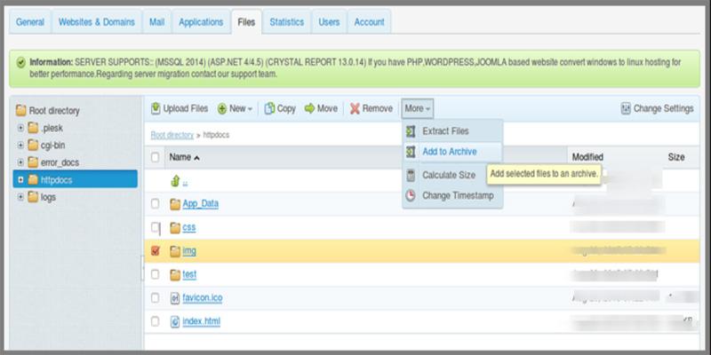 آموزش فشرده سازی فایل ها در پلسک
