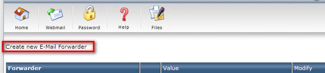 آموزش Forward کردن ایمیل ها در Directadmin