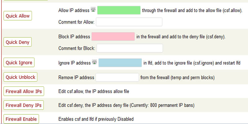 آموزش مسدود سازی IP در سی پنل