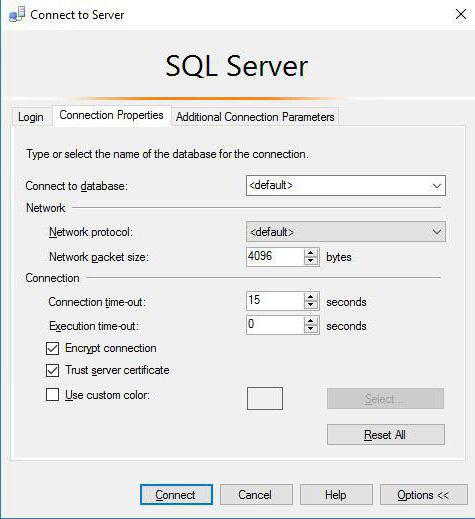 آموزش اتصال به MSSQL با SQL Management Studio