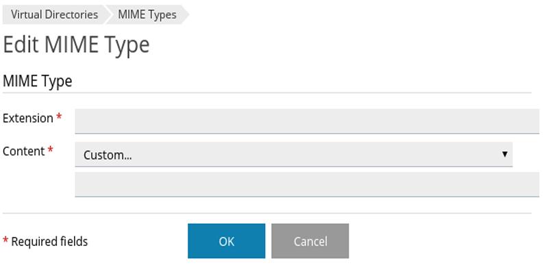 آموزش تعریف MIME Type در پلسک