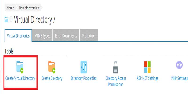 آموزش ساخت Virtual Directory در پلسک