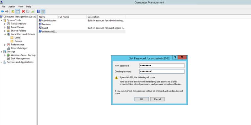 آموزش تغییر رمز سرور مجازی ویندوز