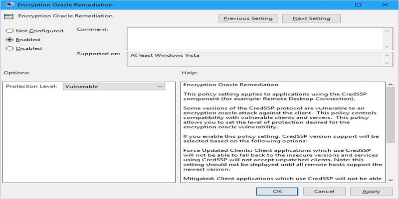 آموزش حل مشکل CredSSP در ریموت
