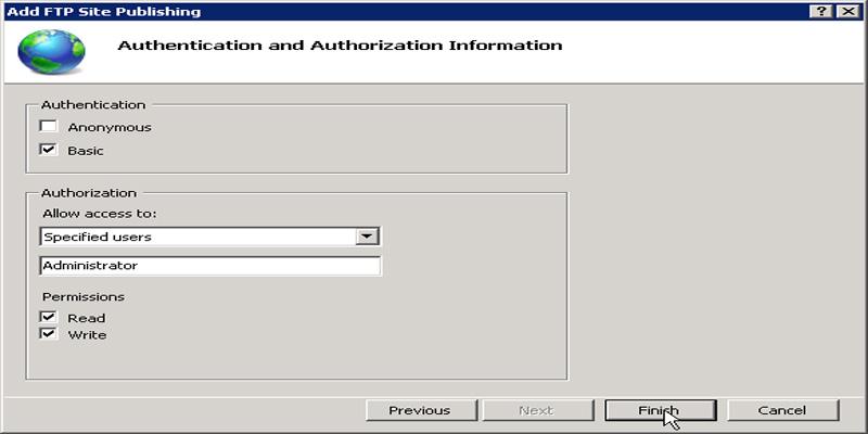 آموزش کانفیگFTP Server در ویندوز سرور 2008