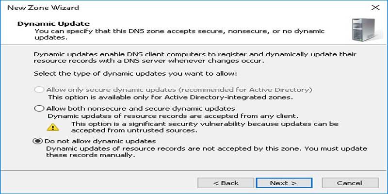 آموزش اتصال دامنه به DNS در سرور ویندوز