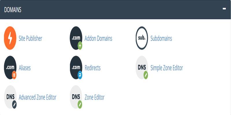 آشنایی با بخش Domains در cPanel