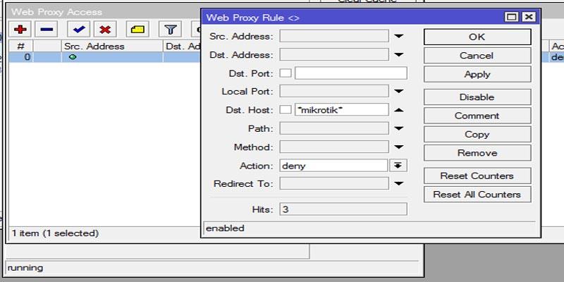 آموزش فیلتر کردن سایت در میکروتیک