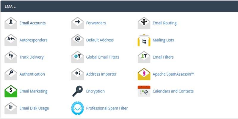 آموزش مدیریت تعلیق اکانت ایمیل در سی پنل
